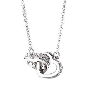 fancy fashions Jewelry - heart ❤️ or circle linked necklace